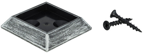 "SUBSH900 Expander Base for 1-5/16"" Shoes, Shown in Antique Nickel."