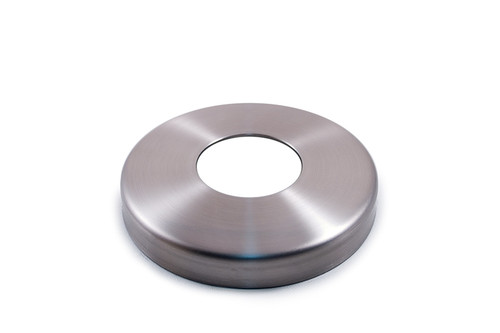 "E0182 Stainless Steel Flange Canopy, 1/2"" Diameter Hole"
