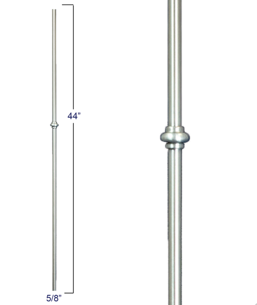 2973 Round Single Smooshed Ball Baluster