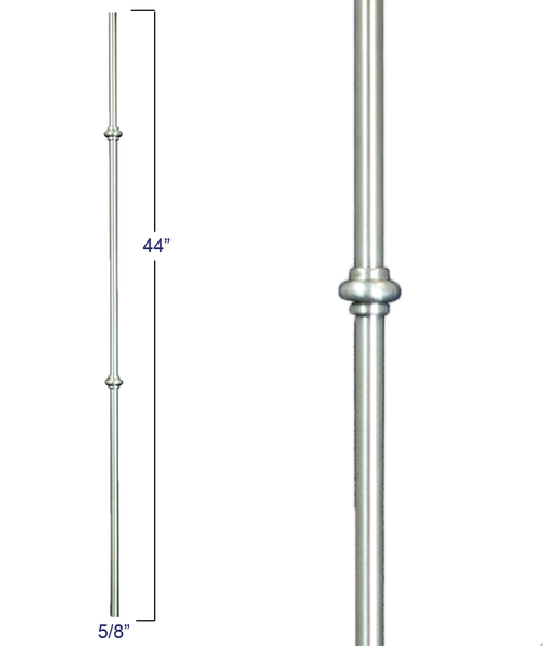 2974 Round Double Smooshed Ball Modern Venetian Baluster