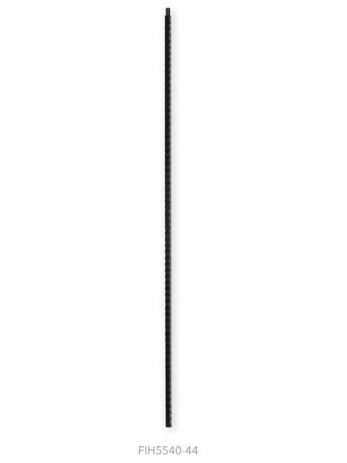 FI5540-44 Ribbed Plain Bar Iron Baluster