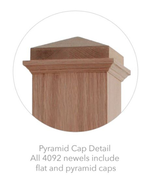 Shipped with Pyramid and Square Caps