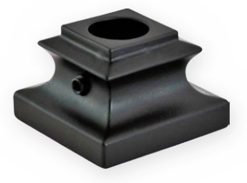 """FI3107 Base Shoe For 9/16"""" Round Balusters"""