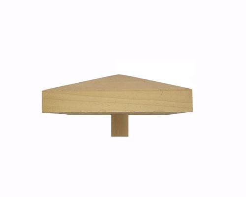 977PT 4.75-Inch Pyramid Newel Post Cap