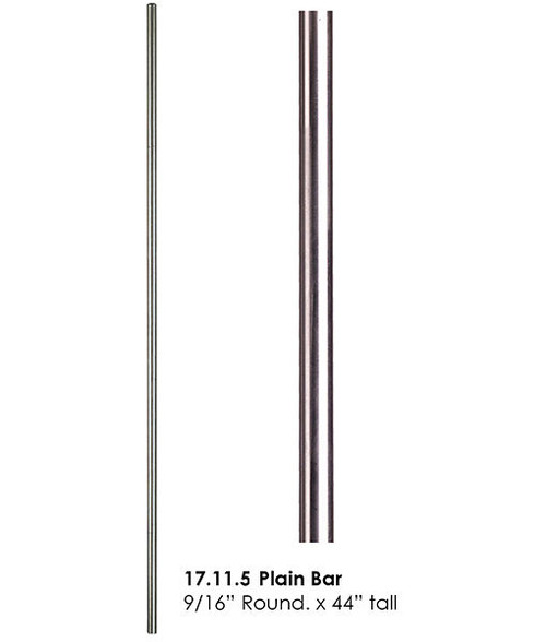 HF17.11.5 Stainless Steel Plain Bar Solid