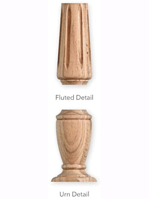 Fluted Detail