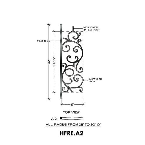 HFRE.A2 Rake  Iron Panel