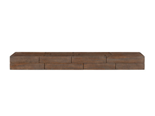 The Cades Shiplap Fireplace Mantel Shelves (1) Cabin Finish
