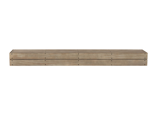 The Cades Pallet Fireplace Mantel Shelves (1), Fontana Finish
