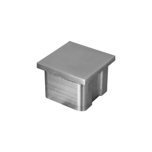 Flat End Cap for Square Rail – 40 x 40 x 2 mm (AX20.007.130.A.SP)