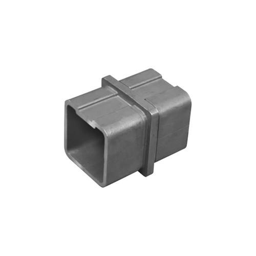 Inline Connector for Square Rail – 40 x 40 x 2 mm (AX20.008.112.A.SP)