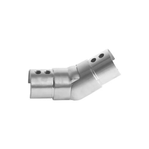 Round Glass Cap Rail Adjustable Fitting Upward (AX00.032.172.A.SP)