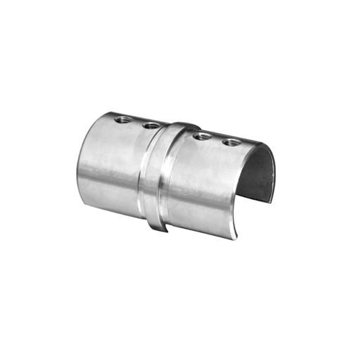 Round Glass Cap Rail Inline Splice Coupler (AX00.032.174.A.SP)