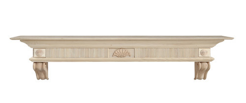 416-60 Devonshire Mantel, Unfinished Mantel Shelf