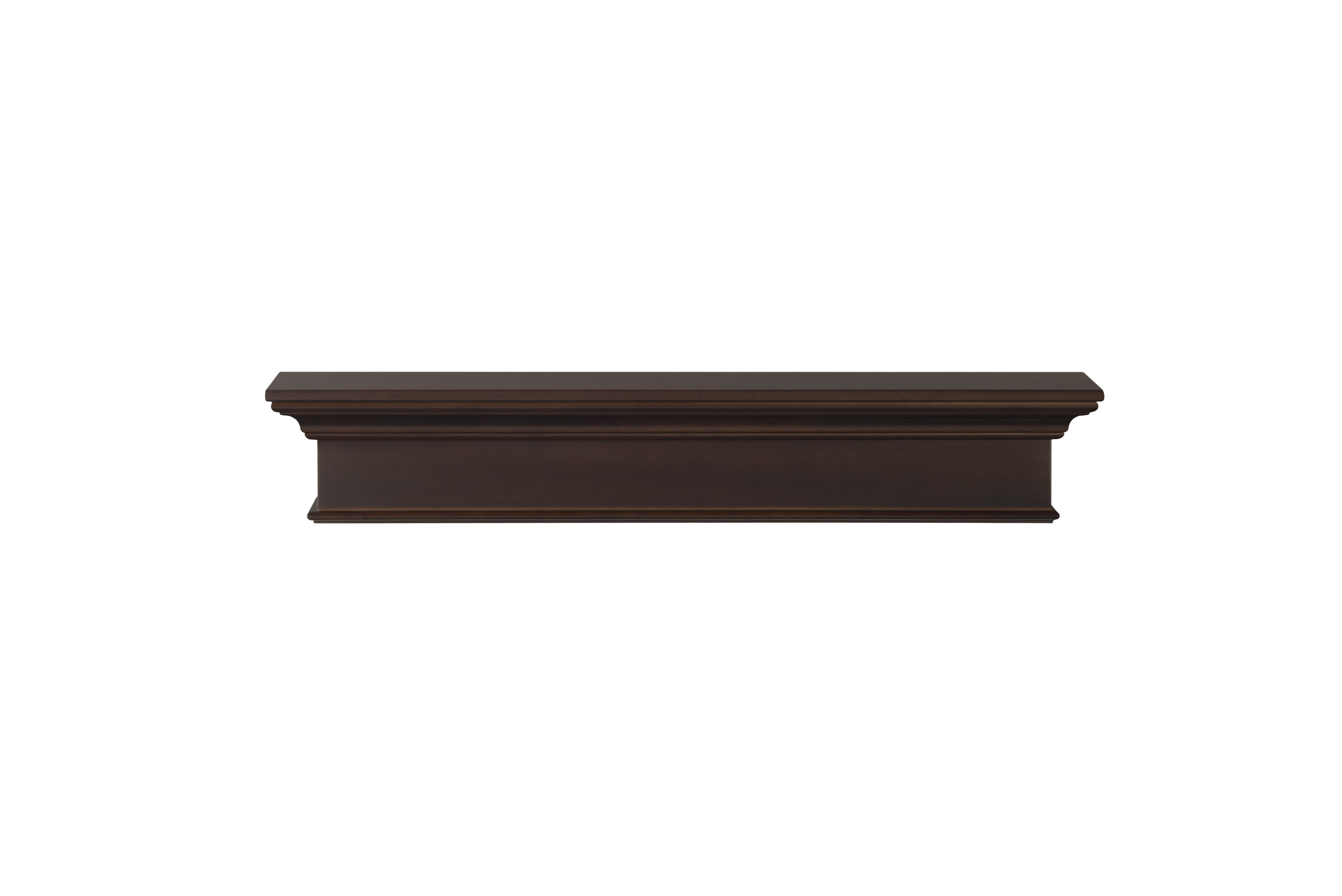 The Henry 610 Chocolate Brown Painted Fireplace Mantel Shelf