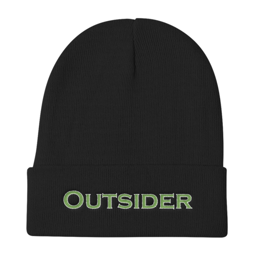 Outsider, Knit Beanie
