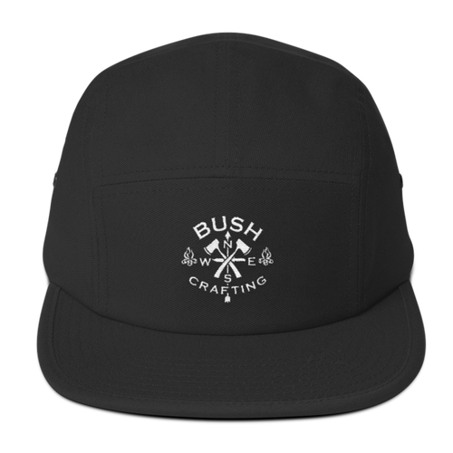 Bushcrafting, Five Panel Cap