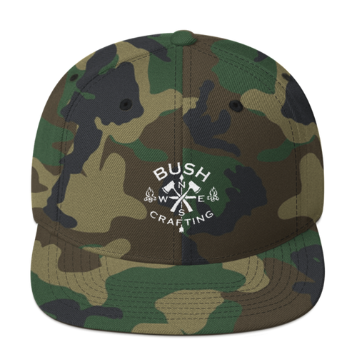 Bushcrafting, Snapback Hat