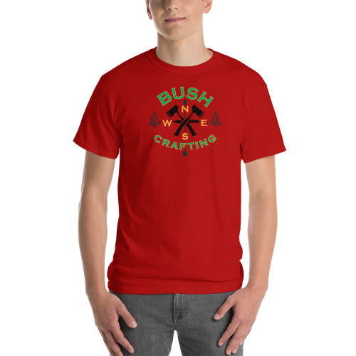 Bushcrafting, Short-Sleeve T-Shirt