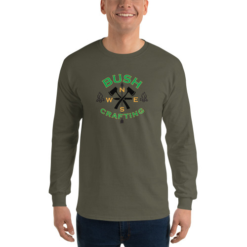 Bushcrafting, Long Sleeve T-Shirt