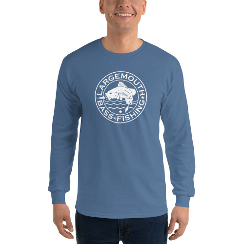 Largemouth Bass Fishing, Long Sleeve T-Shirt