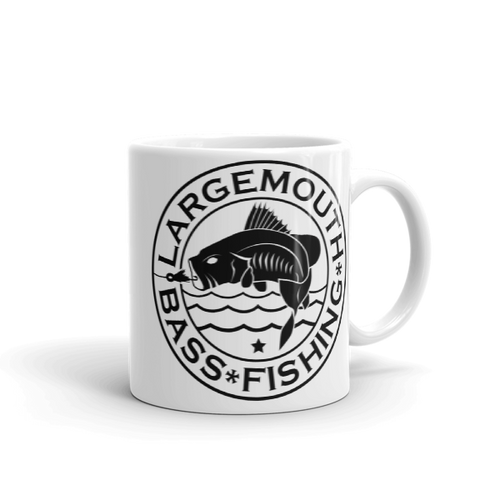 Largemouth Bass Fishing, Mug