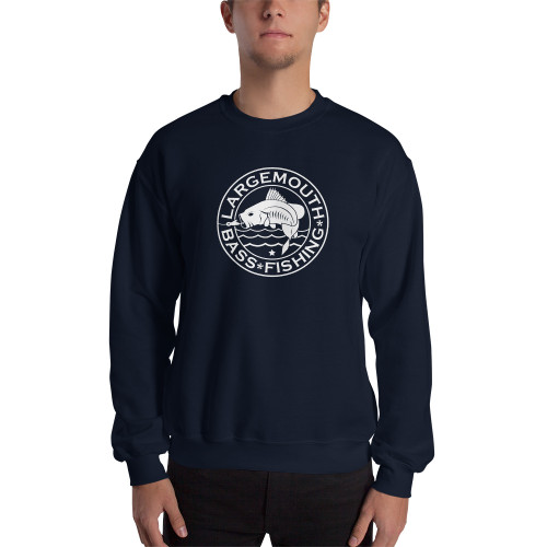 Largemouth Bass Fishing, Sweatshirt