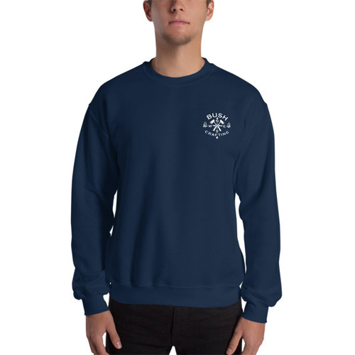 Bushcrafting, Mini Logo Sweatshirt