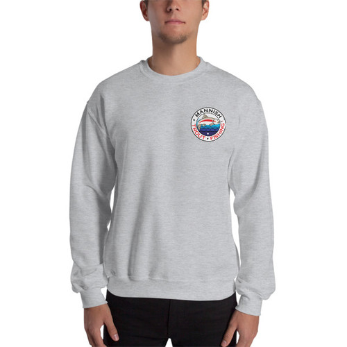 Mannish Trout Fishing, Mini Logo Sweatshirt