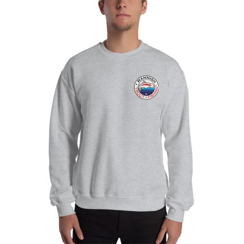 Mannish Trout Fishing, Mini Logo Sweatshirt