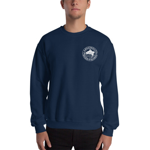 Largemouth Bass Fishing, Mini Logo Sweatshirt