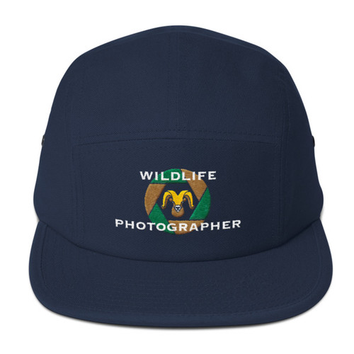 Wildlife Photographer, Five Panel Cap
