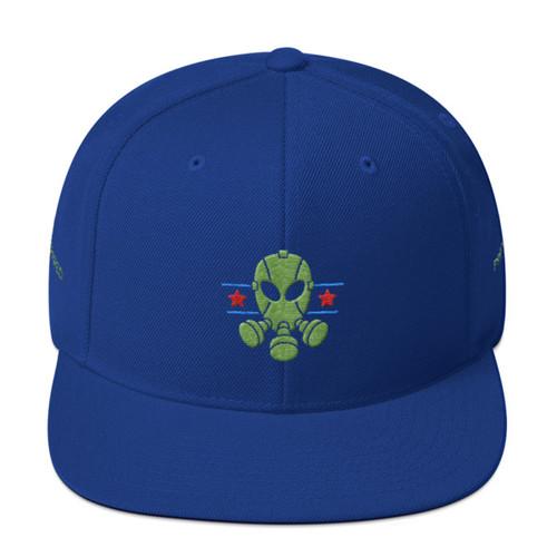 Prepared, Gas Mask, Snapback Hat