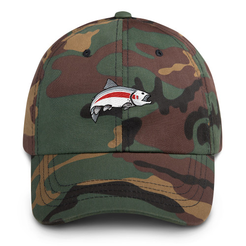 Mannish Fishing, Dad hat