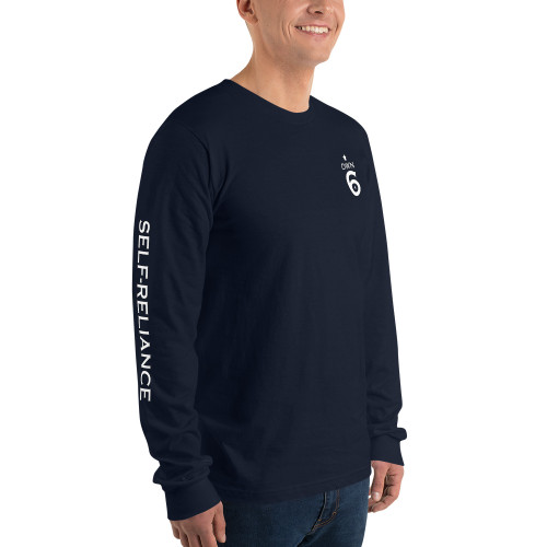 Own 6, Mini Logo, Long Sleeve T-shirt