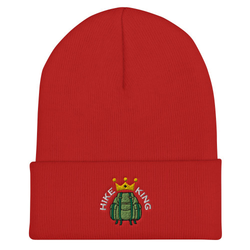 Hike King, Cuffed Beanie