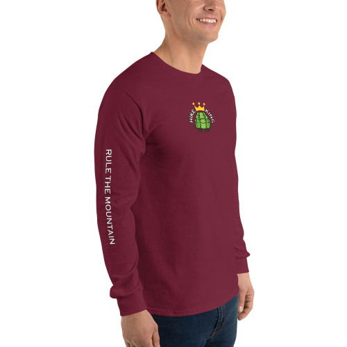 Hike King, Long Sleeve Shirt