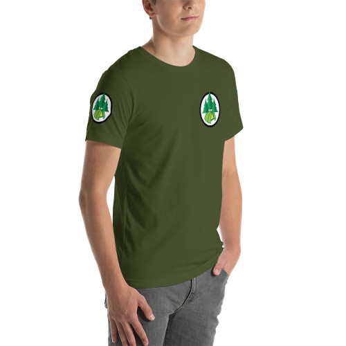 Camping, Short-Sleeve, T-Shirt
