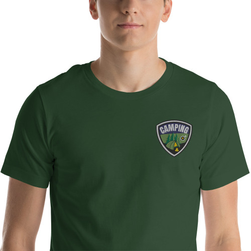 Camping, Short-Sleeve T-Shirt 2020