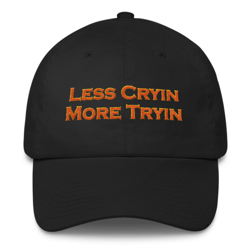 Less Cryin More Tryin, Cotton Cap
