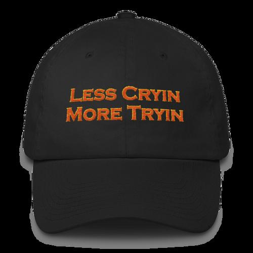 Less Cryin More Tryin, Cotton Cap