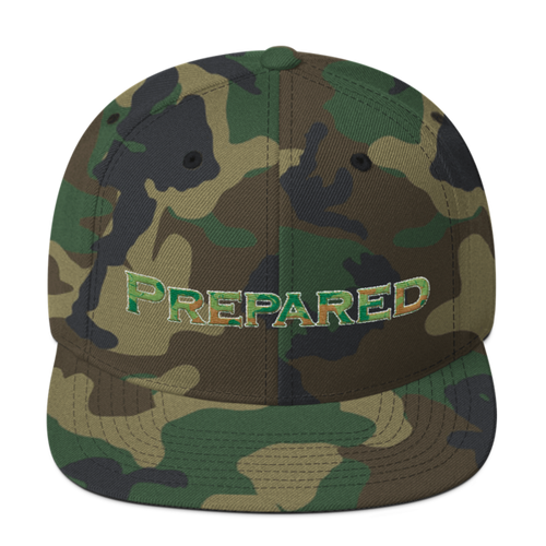 Prepared, Wool Blend Snapback Hat