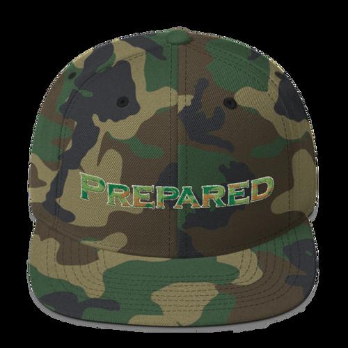 Prepared, Wool Blend Snapback Hat