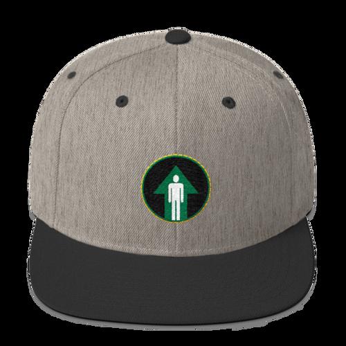 Man Up, Wool Blend Snapback Hat