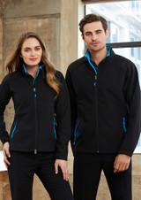 Geneva Jacket (Black/Cyan)