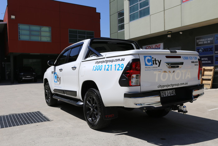 Toyota Hilux Graphics