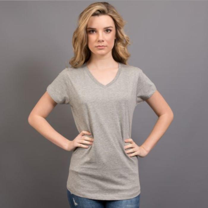 Ladies Nauticus T-Shirt  (Grey Marle)