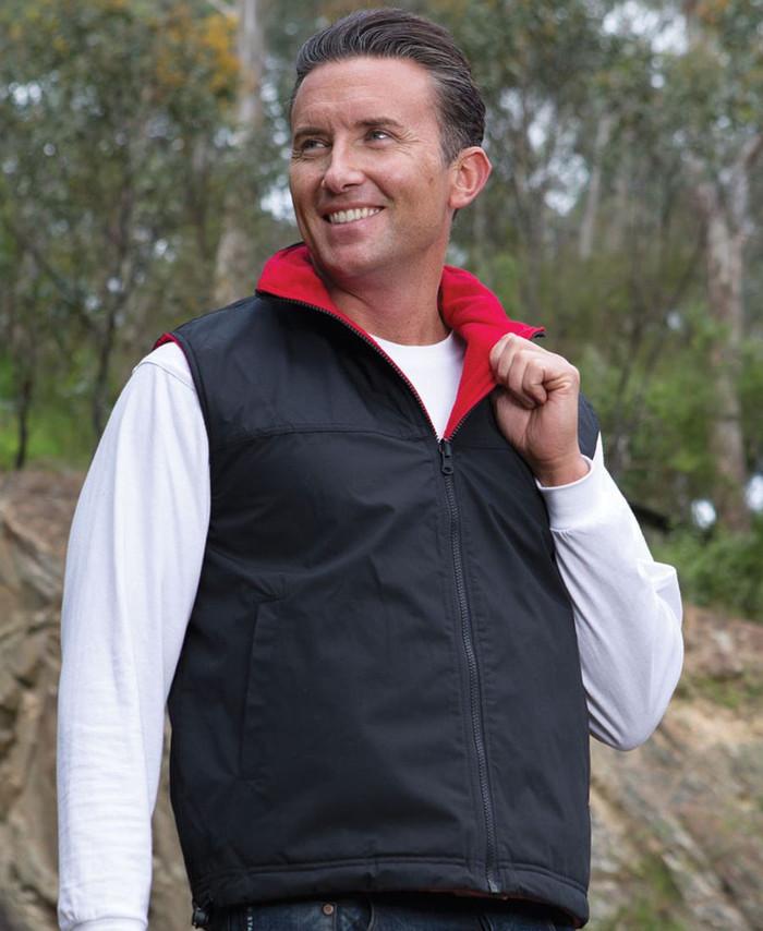 Reversible Vest (Navy/Red)