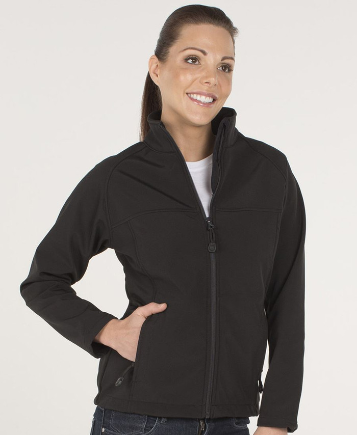 Ladies Layer Soft Shell Jacket (Black)
