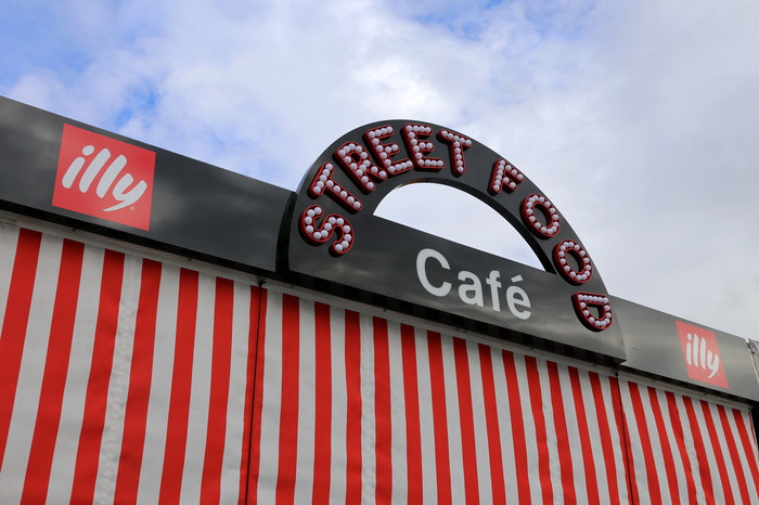 Street Food Awning Sign